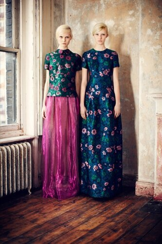 Erdem Pre-Fall Does The Creepy Twin Thing