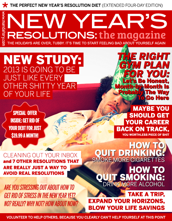 New Year's Resolutions: The Magazine