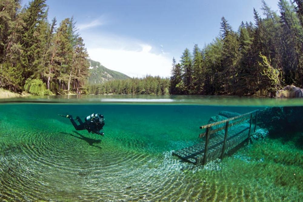 Green Lake, Austria: Sometimes a Park, Sometimes a Lake