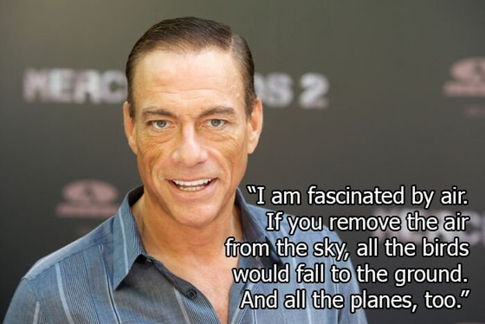 Jean-Claude Van Damme Quotes