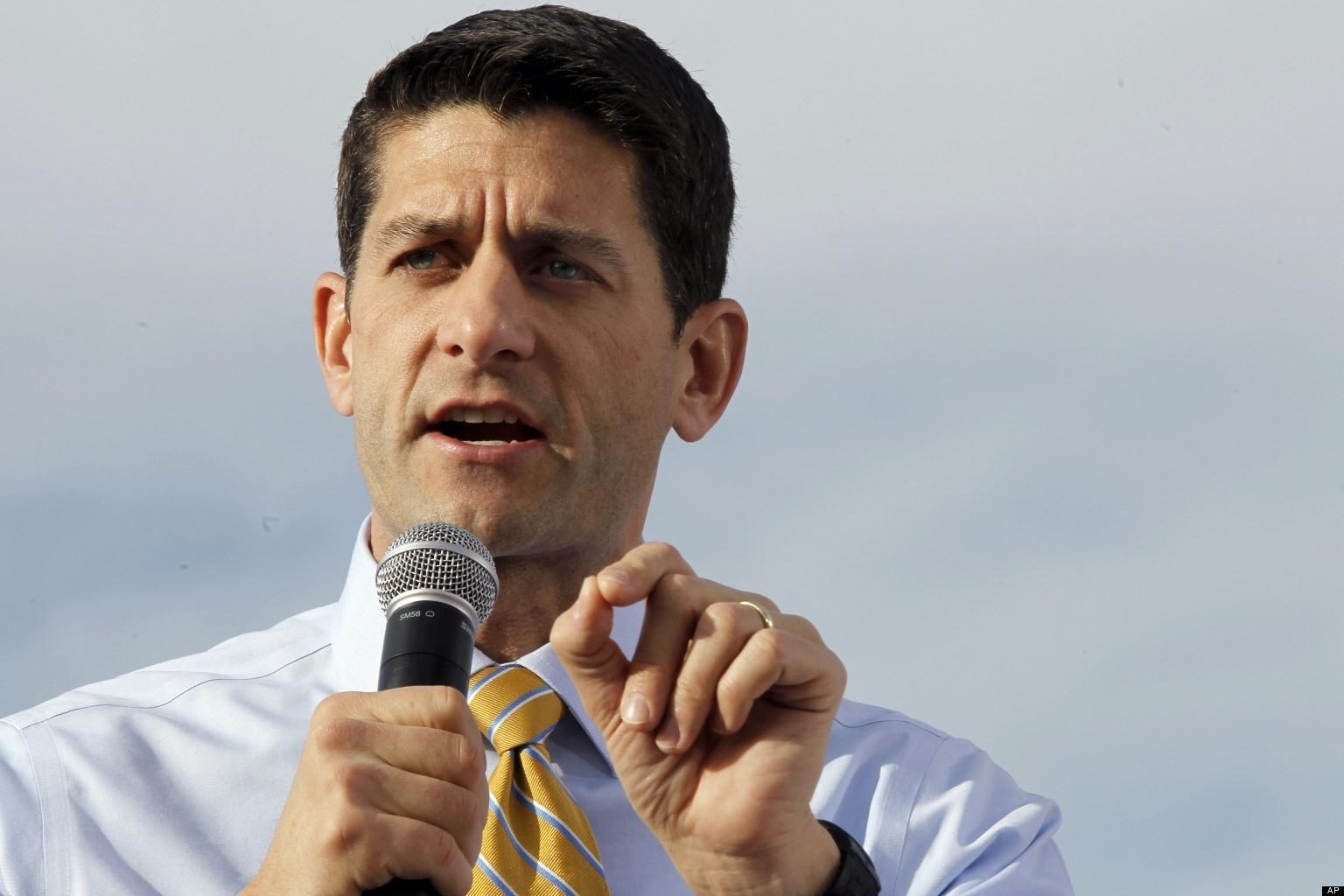 Paul Ryan Makes An A$$ of Himself Again