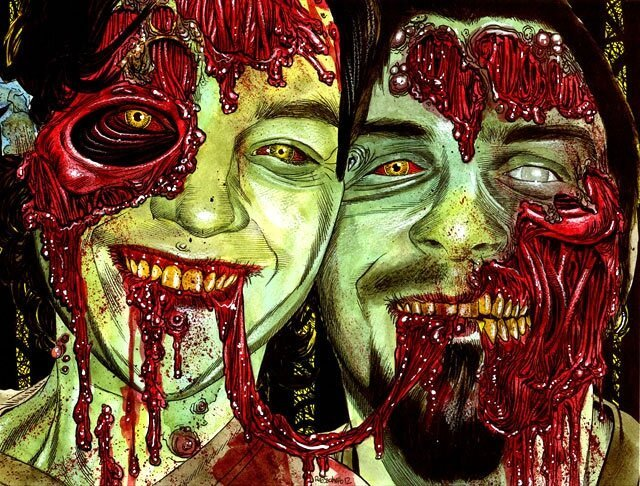 Ghoulish Zombie Portraits!