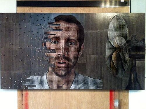Majestic Portraits Made Entirely From Screws