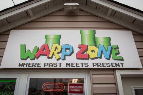 The WARP Zone: Nostalgic Goldmine