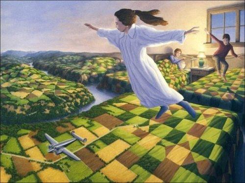 Mind-bending surrealistic paintings