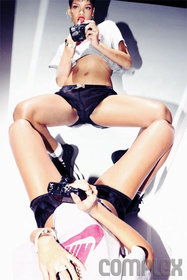 Rihanna's Super Sexy Complex Magazine 2013 Cover Pix!
