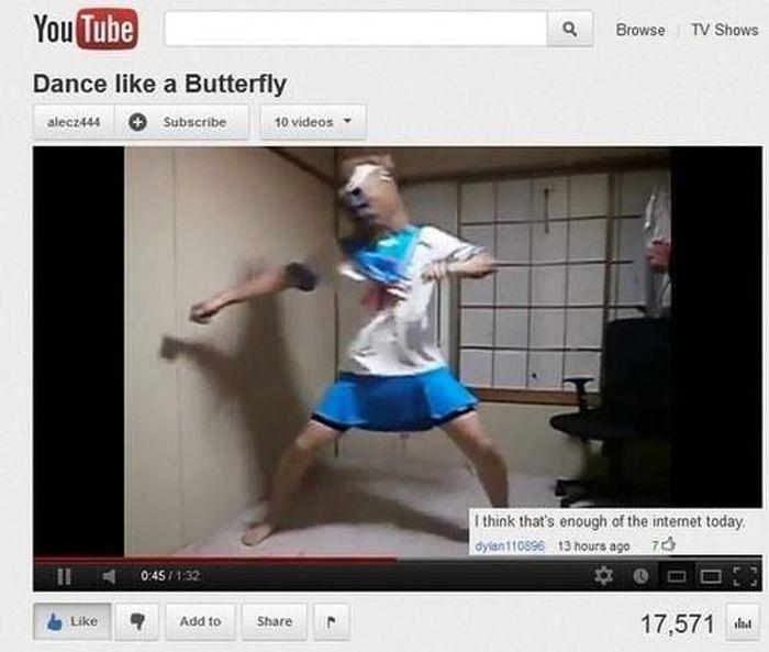 Funny Youtube Comments от Helen за 28 jan 2013