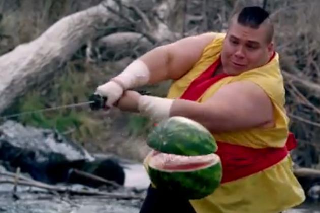 Dallas Police Department Tweet Photos of Fruit Ninjas Protecting City