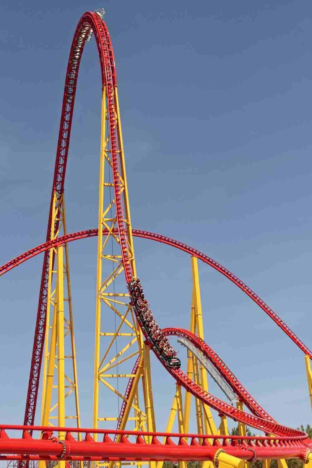 10 Scariest Roller Coasters In The World!