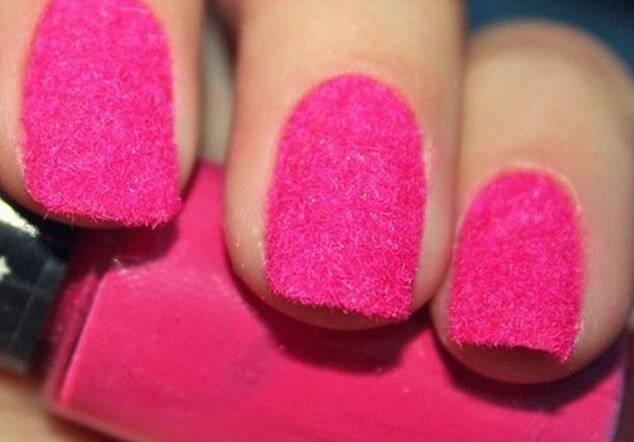 Furry nails and a couple of other nail trends