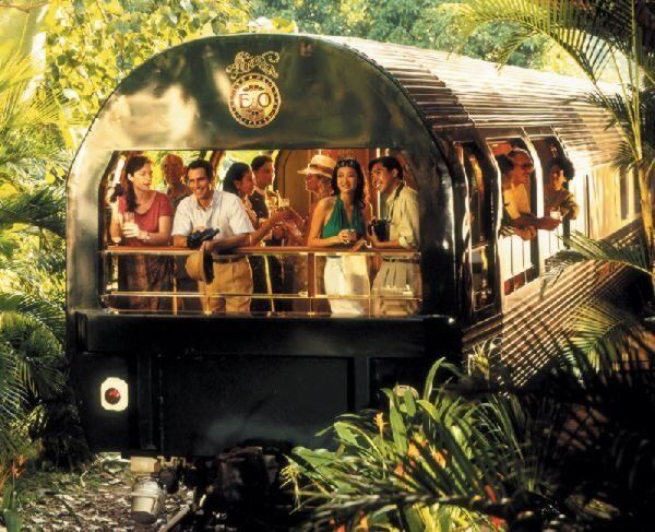 Coolest Train Voyage Ever