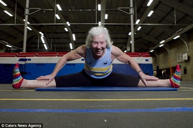 Grandma Athlete