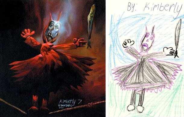 This Incredible Artist Brings Kids Drawings To Life