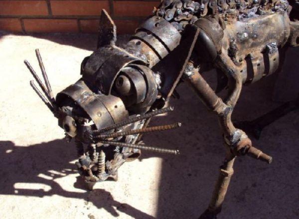 Scrap Metal Cat