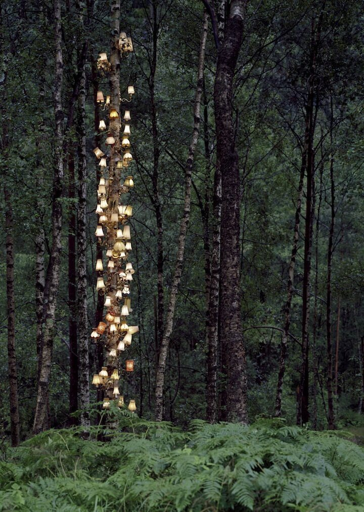Rune Guneriussen's First US Solo Exhibition of Magical Lights