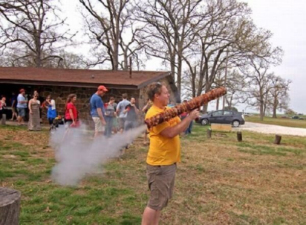 Bacon Bazooka