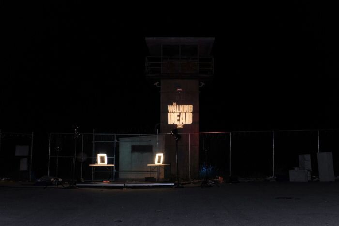 Prison Set of The Walking Dead