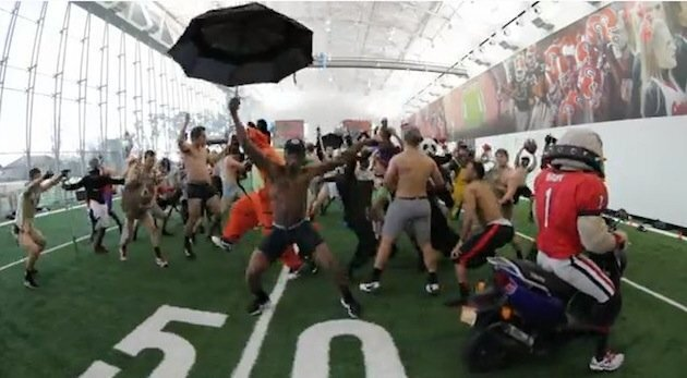 Even The Georgia Football Team is getting down with the Harlem shake