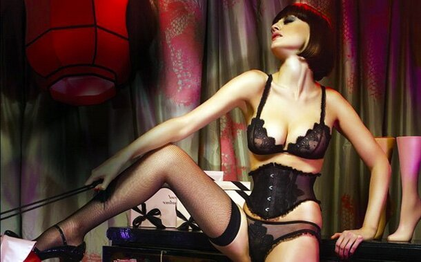 Probably The Greatest Lingerie Ad Ever [NSFW]