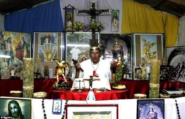 Spooky Real-Life Photos From A Colombian Exorcism