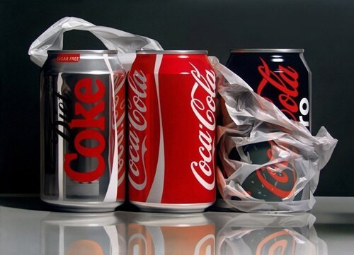 Incredible Photorealistic Paintings That Will Make You Look Twice