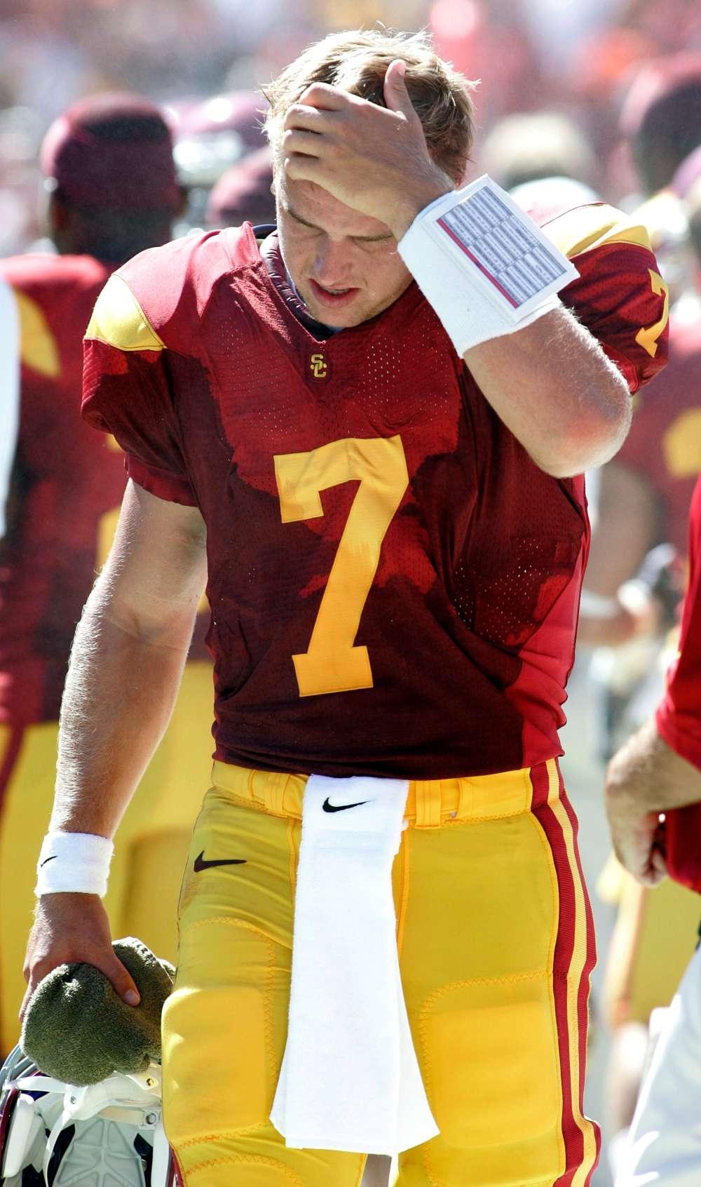 Matt Barkley Wont Throw at 2013 Combine