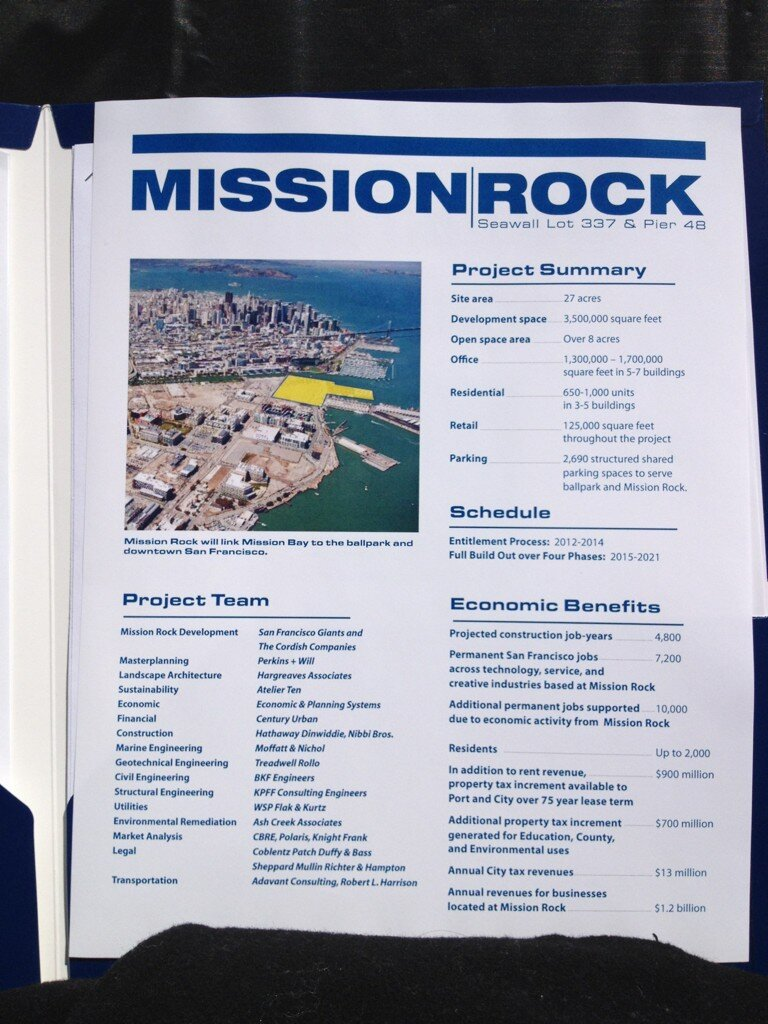 New Mission Rock Development Plan In San Francisco.