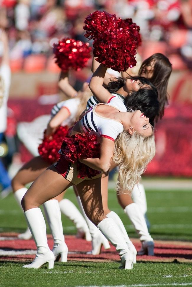 Super Bowl XLVII 49ers Cheerleaders