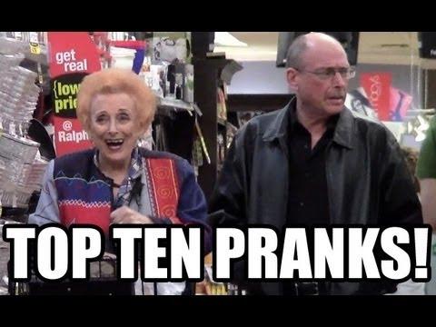 Top Ten Pranks: Grocery Store Gyps