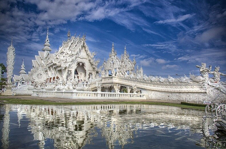Wat Rong Khun: A Buddhist Temple Inspired by Sci-Fi Movies