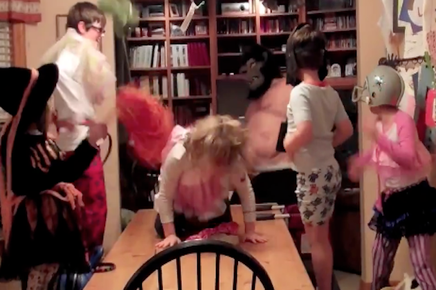 Kids Doing the 'Harlem Shake'