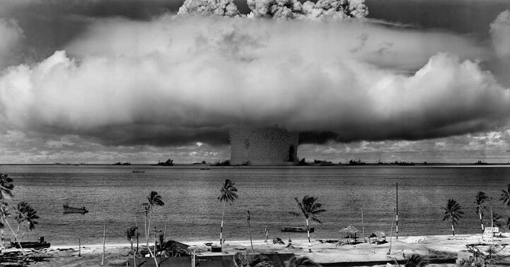 Incredible Archives of a Nuclear Bomb Test Underwater