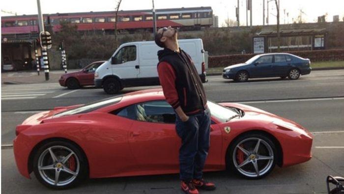 Netherlands' DJ Afrojack Crashed His Ferrari