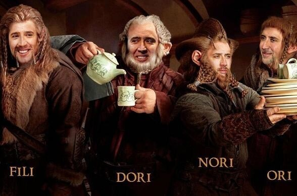 For Nic Cage's Latest Role, He Will Be Playing Every Hobbit