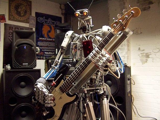 Meet The World's Most Kick-Ass Robot-Only Band