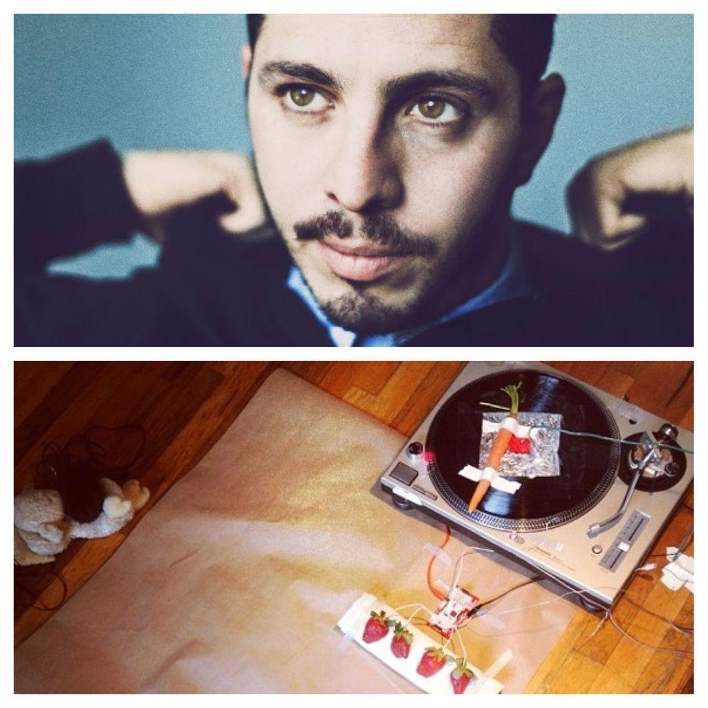 Artist Uses Vegetables To Recreate Massive Attack's 'Teardrop'