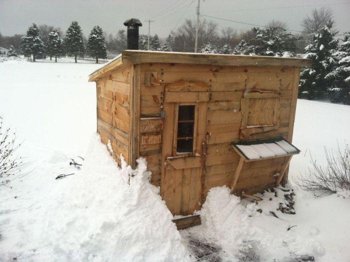 Hand-Made Sauna