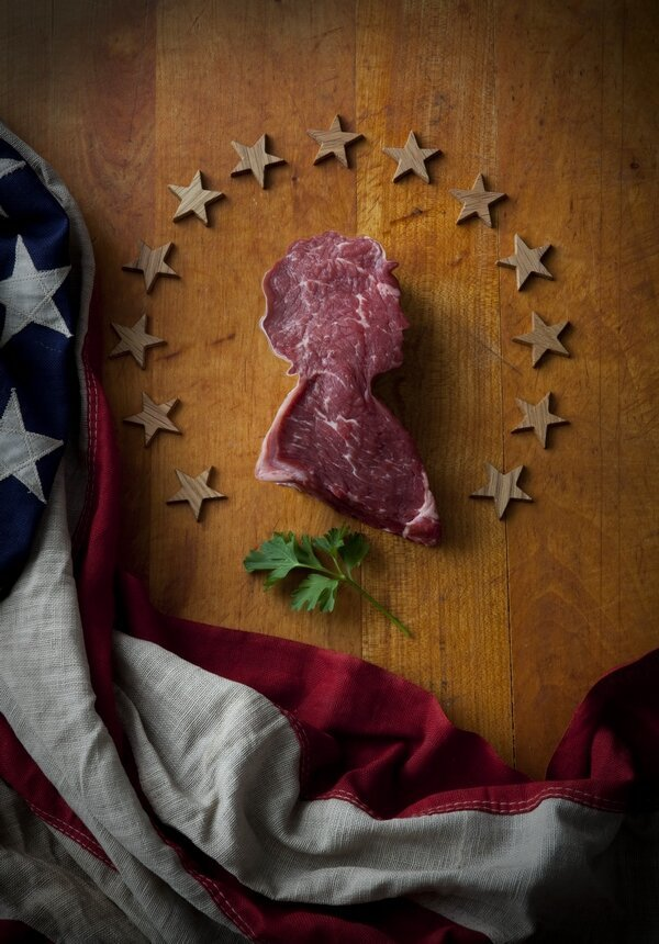 An Artist's Interesting Approach To America's Meat Fetish.