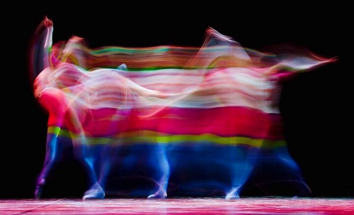 New Gorgeous Long Exposures of Ballet Dancers