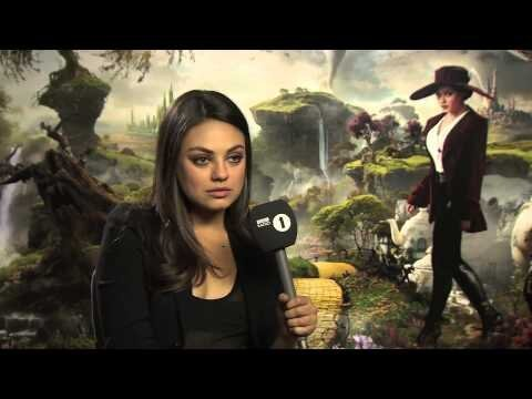 Mila Kunis Calms Interviewer's Nerves, Is Generally Great