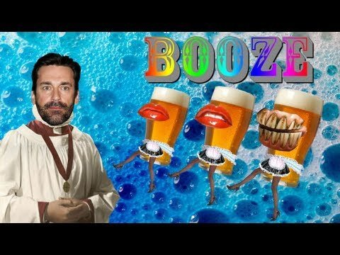 Apparently John Hamm Wants Booze (video)