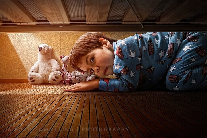 Photographer Takes Sweet Photos of His Young Son