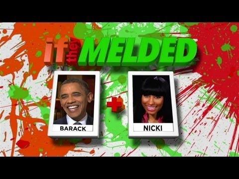 If they Melded Barack Obama + Nicki Minaj = Too Funny