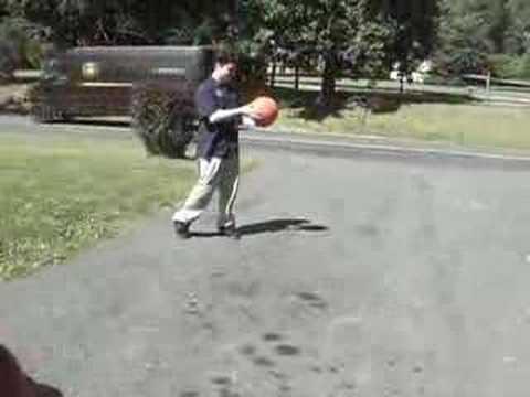 Exploding Basketball (video)