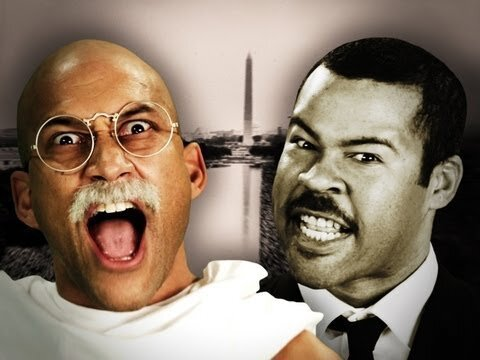 Epic Rap Battle In History - Gandhi vs Martin Luther King Jr. (video)