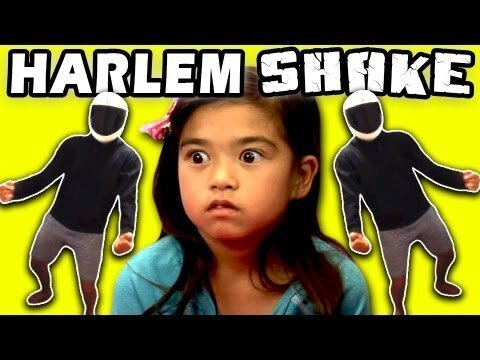 Kids Reaction To The Harlem Shake (Video)