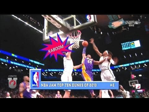 Boom Shakalaka The Voice Of NBA Jam Calls The Best Dunks of 2013