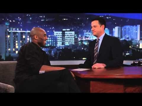 Watch Kobe Bryant Get Owned By Jimmy Kimmel And Laugh It Off.