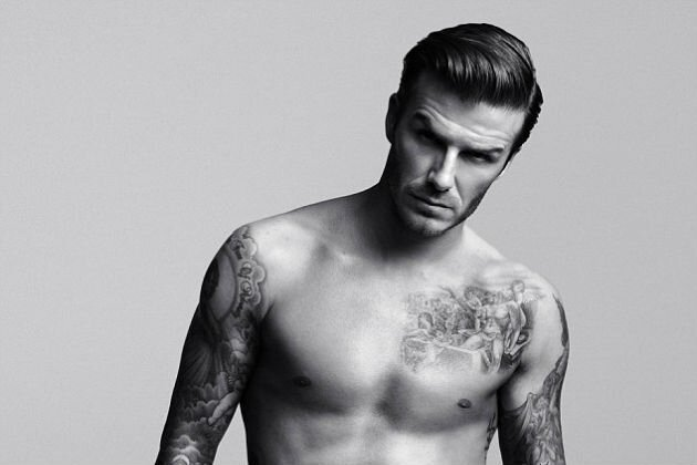 An Appreciation of David Beckham In His Underwear