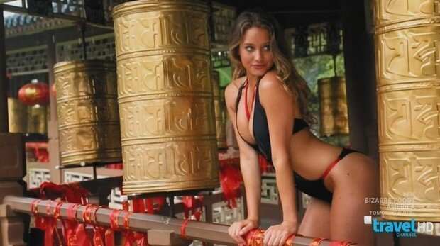 Models Get Sexy On The Travel Channel